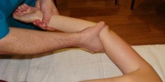 массаж руки при лимфостазе ручной